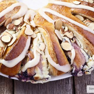 Christmas Traditions: Blueberry-Cream Cheese Christmas Stollen