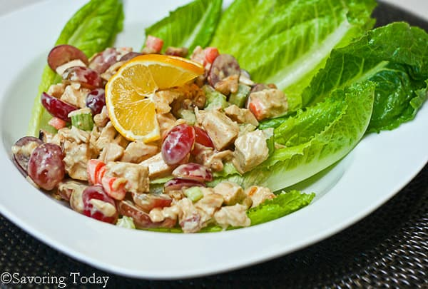 Curry Chicken Salad | Savoring Today