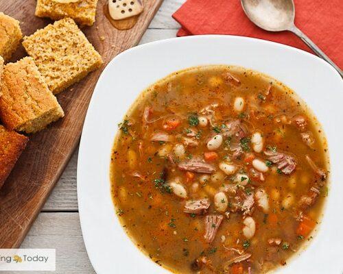 Smoked Turkey Bean Soup Recipe Rivals Traditional Ham