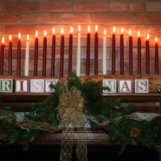 Christmas Traditions: Advent Log