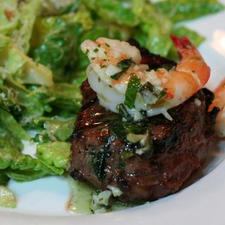 Scampi-Style Tenderloin Steak: Casual Friday or Valentine Feast