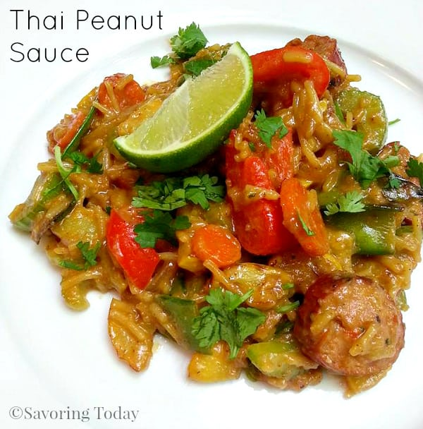 Thai Peanut Sauce | Savoring Today