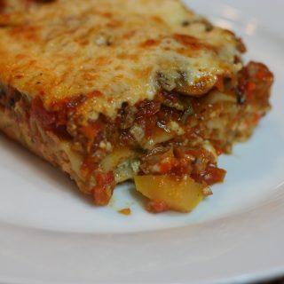 Very Veggie Lasagna: Care to Join Me?