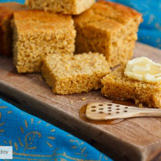 Sprouted Whole Grain Cornbread
