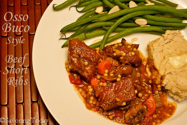Osso Buco Style Beef Short Ribs | Savoring Today