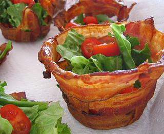 Bacon Cups (via not martha): Feature Fridays