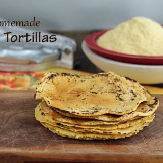 Homemade Corn Tortillas | Savoring Today