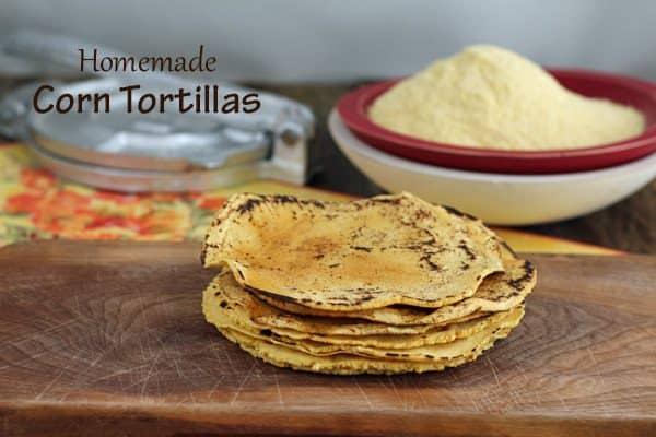Homemade Corn Tortillas | Savoring Today