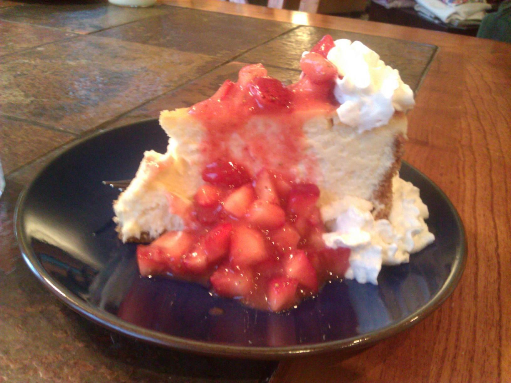 Test Kitchen New York Cheesecake Sour Cream Topping Recipe