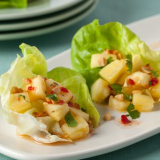 Spicy Thai-Style Pineapple Wraps: Test Kitchen Tuesday