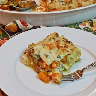 Emeril's Butternut Squash Lasagna with Italian Sausage and Sage: One-Pot Wonderful