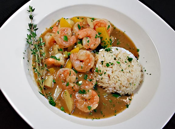 Savoring Today Cajun Shrimp Stew