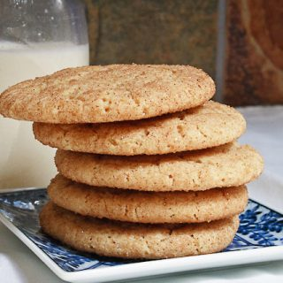 Snickerdoodle Cookies [Whole Wheat]