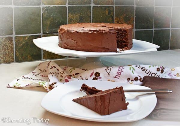 Chocolate Cake [Gluten-Free]