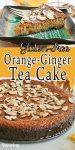 Orange Ginger Tea Cake
