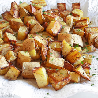 Sweet Potato Home Fries: Make Your Own Convenience Food