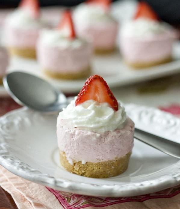 Strawberry Cheesecake Bites by Erica's Sweet Tooth
