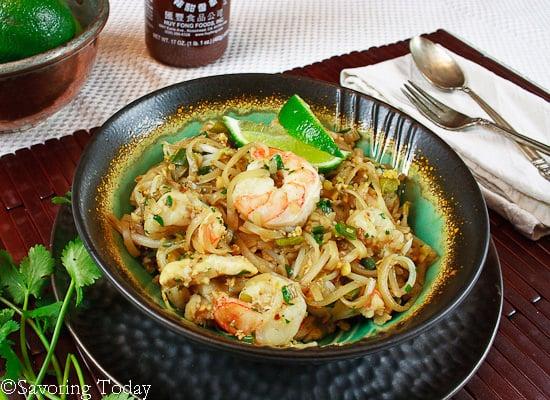 ... quick shrimp pad thai shrimp pad thai recipe on food52 shrimp pad thai