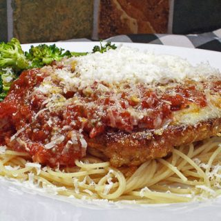 Veal Parmesan: Comfort Food for Black Forest Fire Victims
