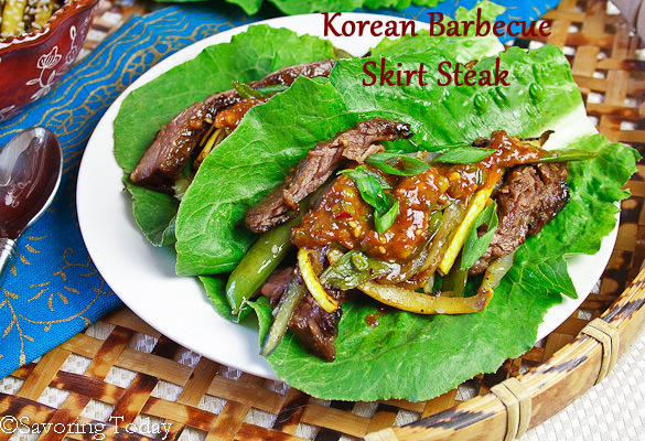 Korean Barbecue Skirt Steak [Easy] | Savoring Today
