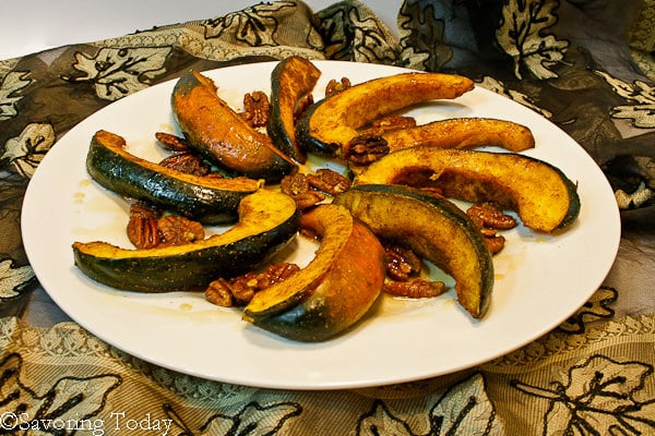 Acorn Squash w- Curry Spice & Pecans | Savoring Today