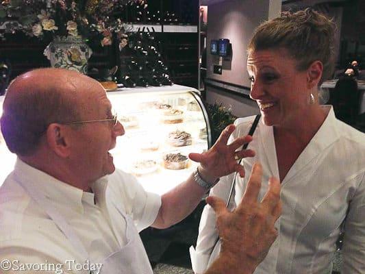DC - La Perla Chef Testa talks about marinara (1 of 1)