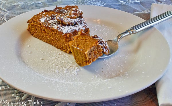Pumpkin Tea Cake [gluten, grain, & dairy-free] | Savoring Today