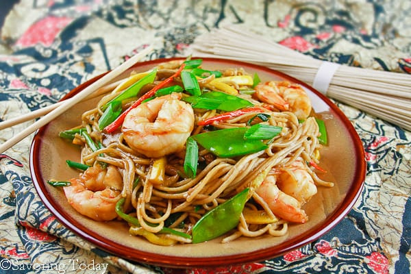 Shrimp Lo Mein - Served (1 of 1)-2