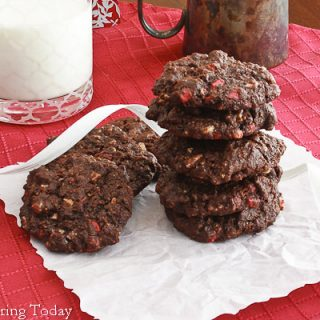 Peppermint Chip Chocolate Cookies [Gluten-Free]