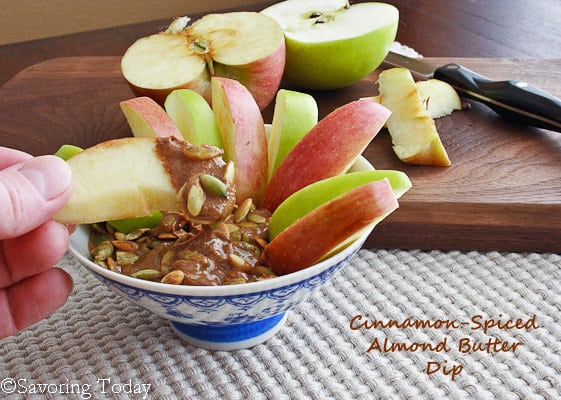 Cinnamon-Spiced Almond Butter Dip - Taking a Bite (1 of 1) copy