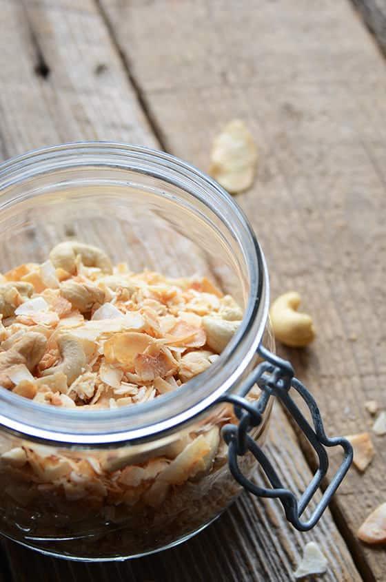 Vanilla Cashews