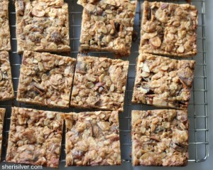 dairy free breakfast bars