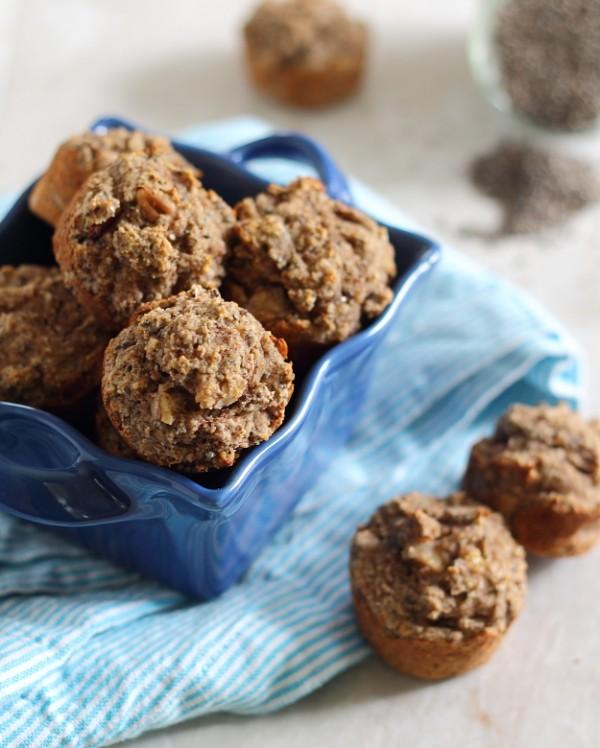 Banana Chia Bites - muffins