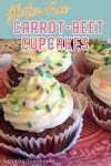 carrot beet cupcakes for pinterest