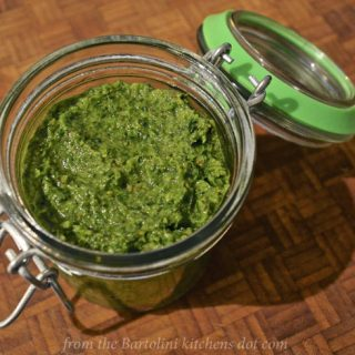 Guest Post by John, from the Bartolini kitchens: Ramps Pesto