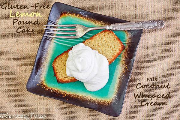 Gluten-Free Lemon Pound Cake [with Sugar-Free and Dairy-Free Options ...