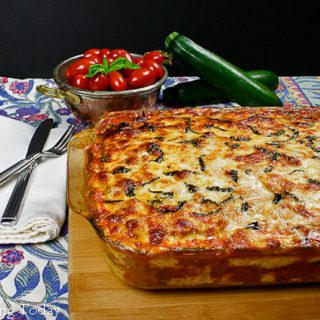 Zucchini Lasagna from the oven | Savoring Today (1 of 1)