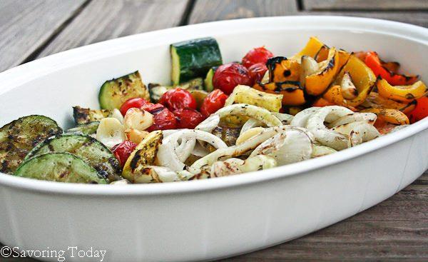 Grilled Vegetable Medley | Savoring Today