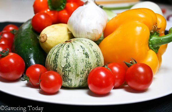 Grilled Vegetable Medley|Savoring Today
