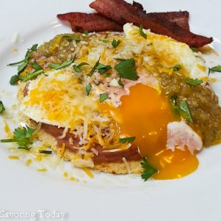 Huevos Rancheros - Savoring Today