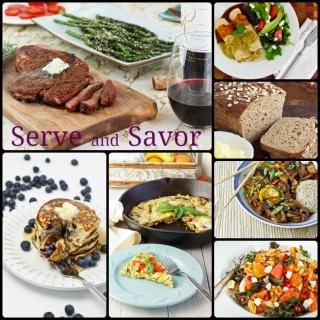 Serve and Savor Photo Collage