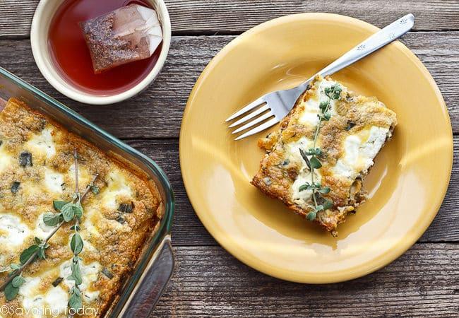 Butternut Squash Quiche with Italian Sausage & Sage Recipe