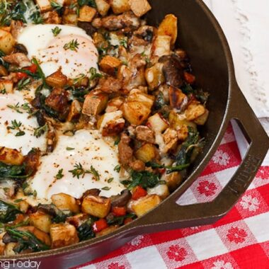 Savory Breakfast Skillet for Five | Savoring Today