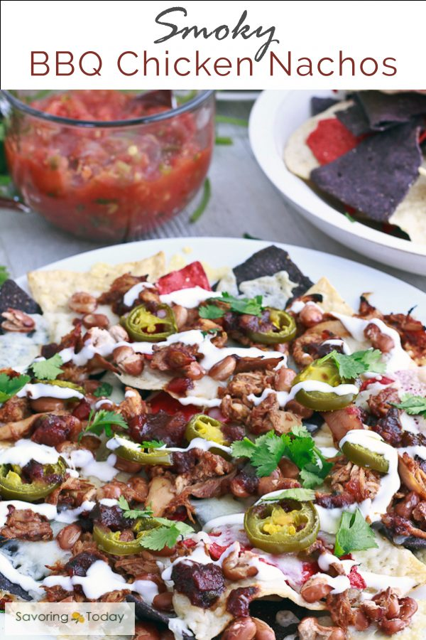 Bbq chicken nachos recipe super bowl party food for What to serve at a bbq birthday party