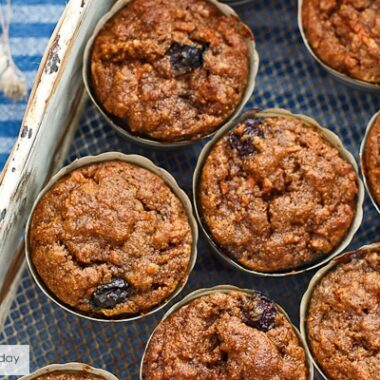 Grain-free and gluten-free breakfast muffins made with wholesome ingredients for a healthy breakfast.