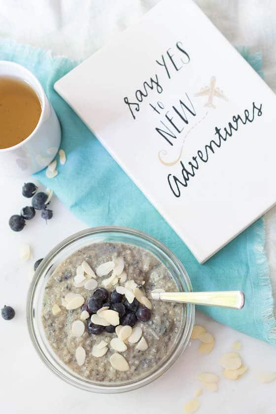 Use leftover quinoa for a wholesome breakfast.