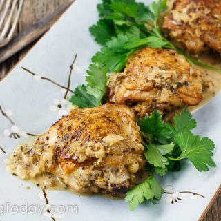 Braised Chicken Thighs in Stone Ground Mustard Cream Sauce: 5 Tips for Fail-Proof Sauce