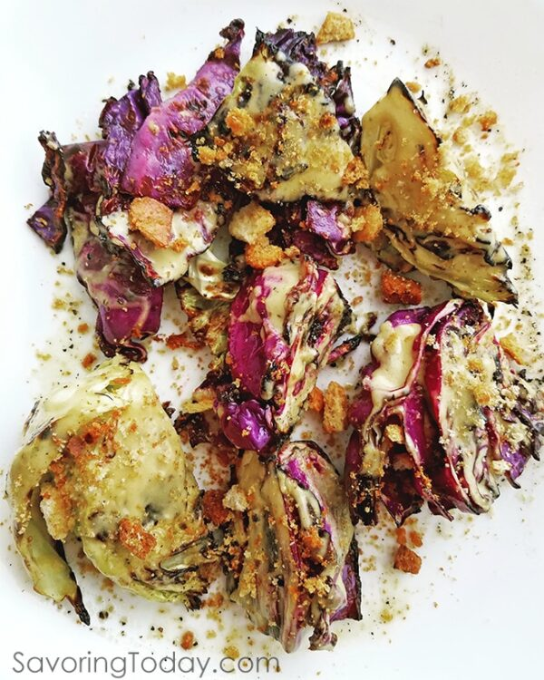 Grilled Cabbage with classic Caesar Dressing and Crushed Croutons is an impressive new side dish from the grill. 14 Go-To Grilling Recipes for Summer