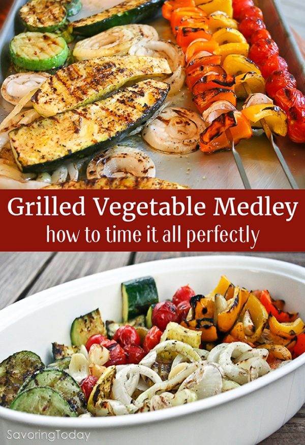14 Go-To Grilling Recipes for Summer. Grilled Vegetable Medley will round out any meal.